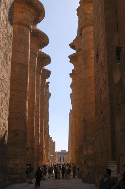 Hypostyle Hall at Karnak – Egypt 2003