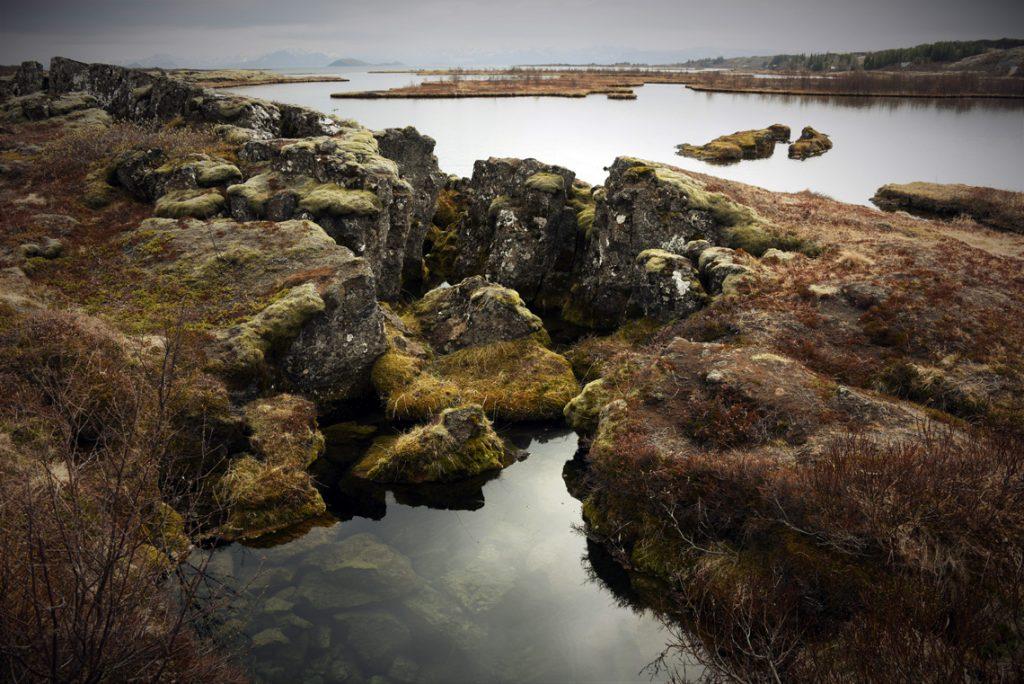 Silfra rift at Þingvellir