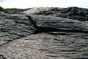 pahoehoe lava in the galapagos islands