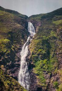 The 200' tall waterfall