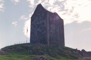 Restored, livable, and quite comfortable Smailholm Tower