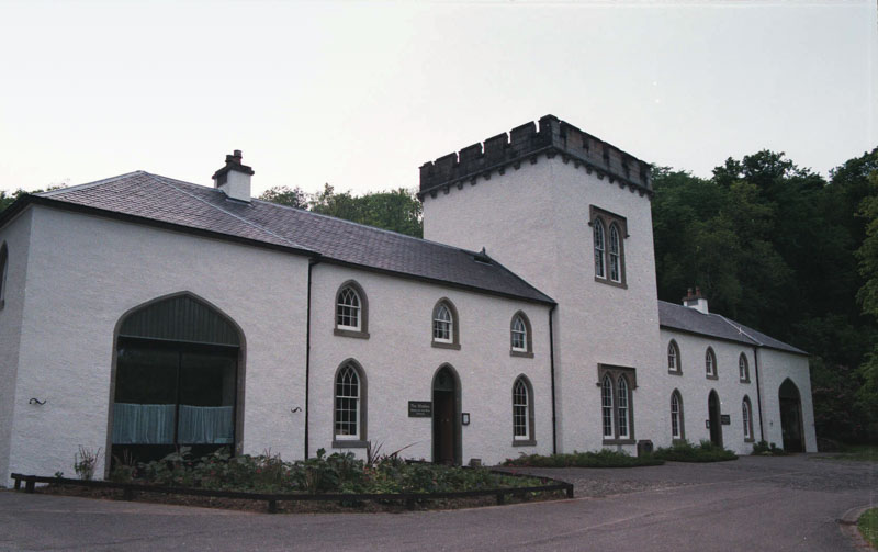 the impeccably restored stables now a restaurant and museum