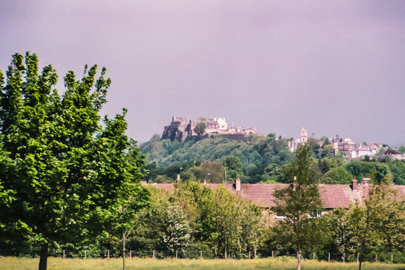View of Stirling Castle from the battlefield