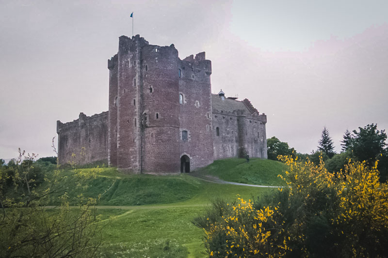 One of the few unaltered castles in Scotland, dating from 15c