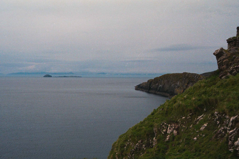 The shoreline here is wild and beautiful, like most of the isle of Skye