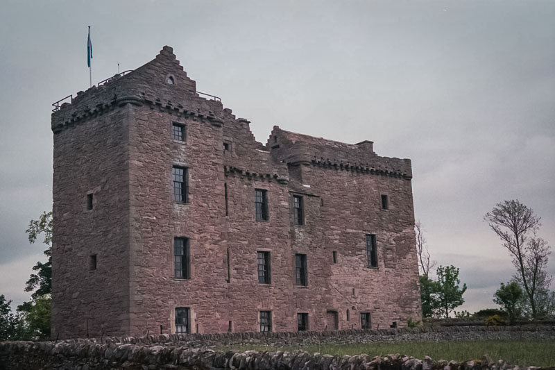 originally, the castle was two separate towers