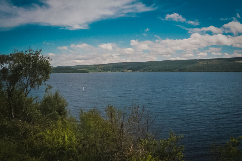 Loch Ness, but no sign of Nessie