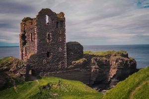 Tower house of Girnigoe Castle