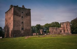 The standing tower house at Spynie