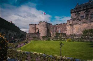 the lovely walled Queen Anne's Garden