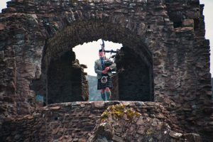 Piper in the main tower