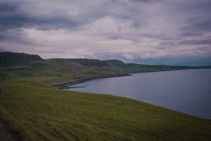 More of the coastline of Skye